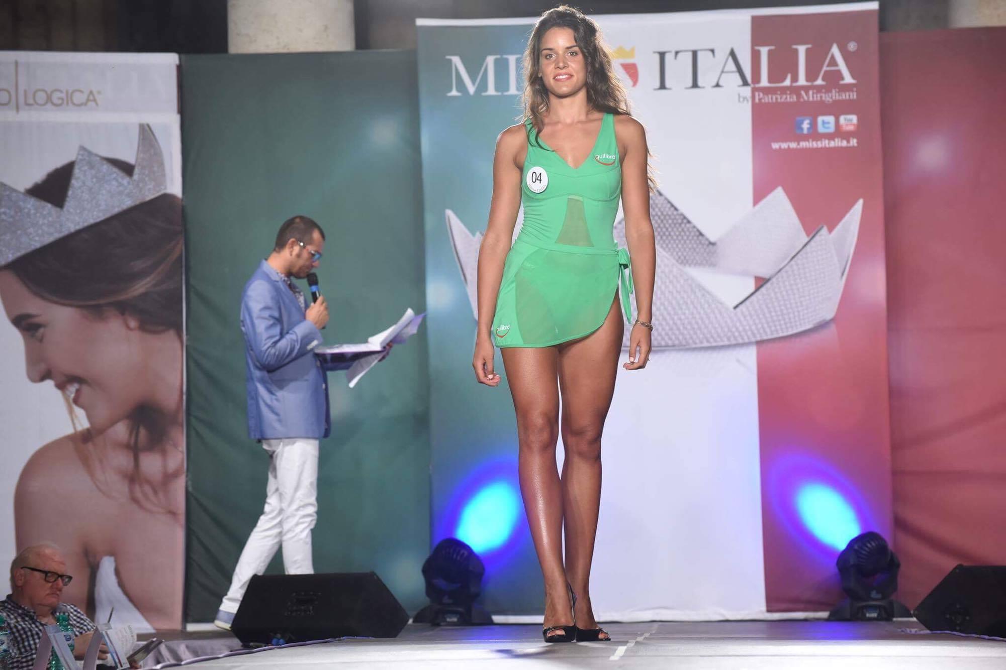 Una barlettana alla corte di Miss Italia, ecco Emilia Paolicelli