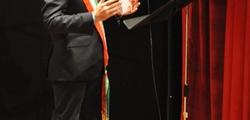 L'intervento del sindaco Riccardo Nocentini