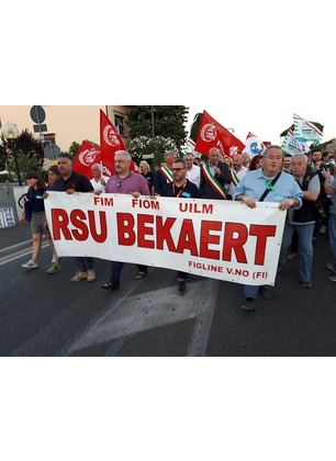 Bekaert, firmato l'accordo per la Cig. I lavoratori potranno contarci dal primo gennaio
