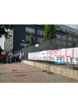 """Bekaert, Pirelli: """"Su Figline mantenuti tutti gli impegni. Auspicata intesa tra le parti"""""""