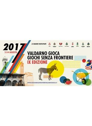 """Giochi Senza Frontiere, quest'anno è sfida fra """"campanili"""": otto comuni del Valdarno si contendono il trofeo"""