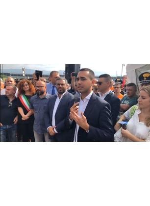 """Accordo Bekaert, le parole del Ministro Di Maio: """"Buone notizie per i lavoratori, nessuno sarà lasciato solo"""""""