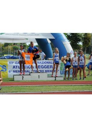 Atletica Futura: premi ai Campionati Italiani AICS