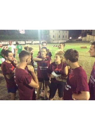 La squadra di Castelfranco Piandiscò alla sfida nazionale di Giochi senza Frontiere