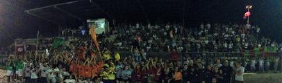 Sfide, giochi e tanto divertimento: allo stadio di Pian di Scò la seconda serata di Valdarno Gioca