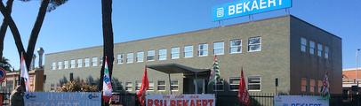 """Cotto Pratigliolmi, la solidarietà dei lavoratori Bekaert: """"Al vostro fianco, viviamo lo stesso dramma"""""""