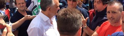 """Bekaert, arriva in visita il Presidente della Regione Enrico Rossi. Intanto la Fiom ribadisce: """"No alla chiusura"""""""