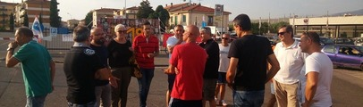 Bekaert, ancora visite al presidio: Insieme per Rignano e l'assessore regionale Vincenzo Ceccarelli