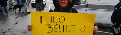 Enpa e tanti cittadini davanti al circo per protestare. Petizione per un regolamento in favore degli animali
